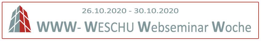 WESCHU Webinar mit MHT