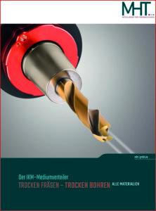 """Deckblatt Broschüre """"Trocken Bohren"""" mit dem IKM-Mediumverteiler"""