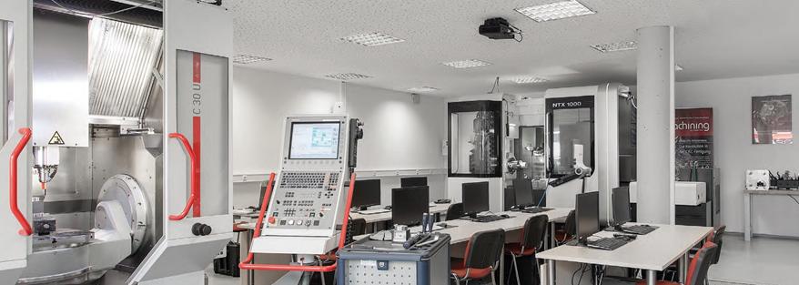 Technologiezentrum SolidCAM in Schramberg